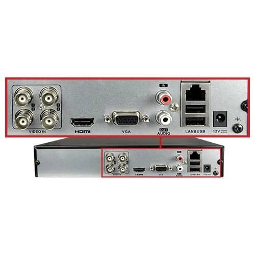 Hikvision coax (DVR) recorder