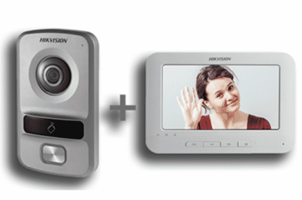 Hikvision IP Video Intercom Kit 1