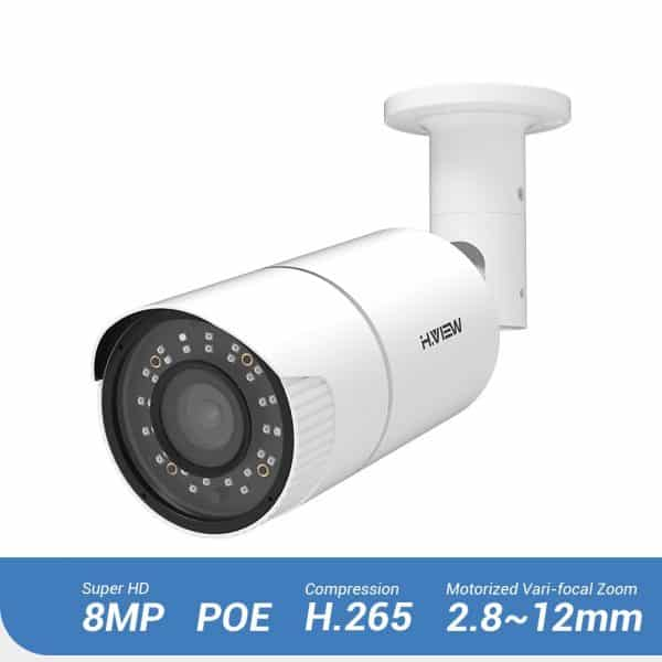 HD 8MP IP Camera voor camerabewaking thuis