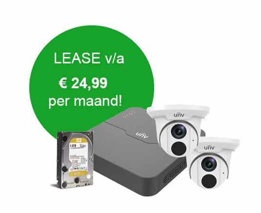 bewakingscamera lease aanvraag formulier