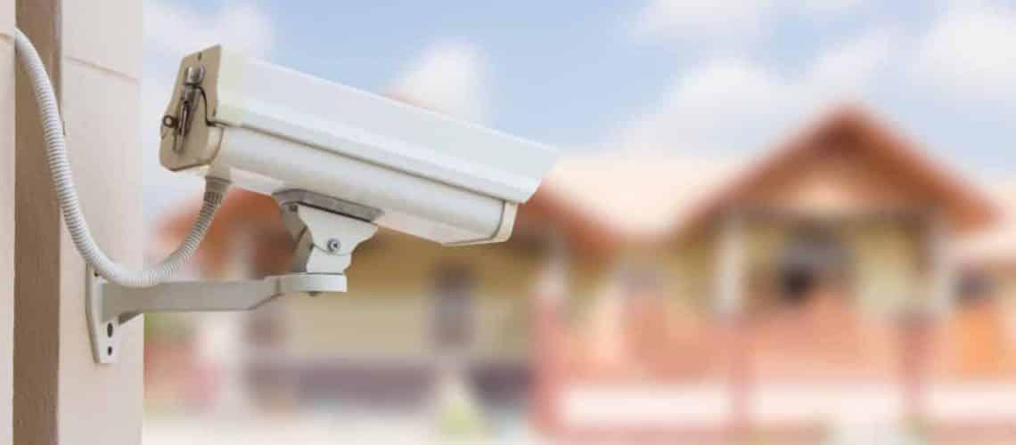 bewakingscamera buiten zicht